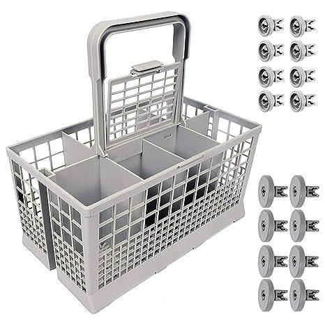 VijTIAN - Cesta para cubiertos de lavavajillas, soporte para ...