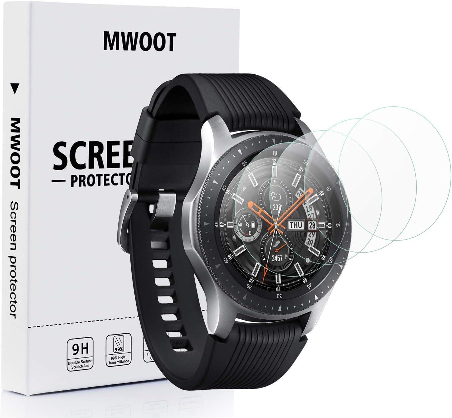 Mwoot 4 Unidades Protectores de Cristal Templado para Samsung ...