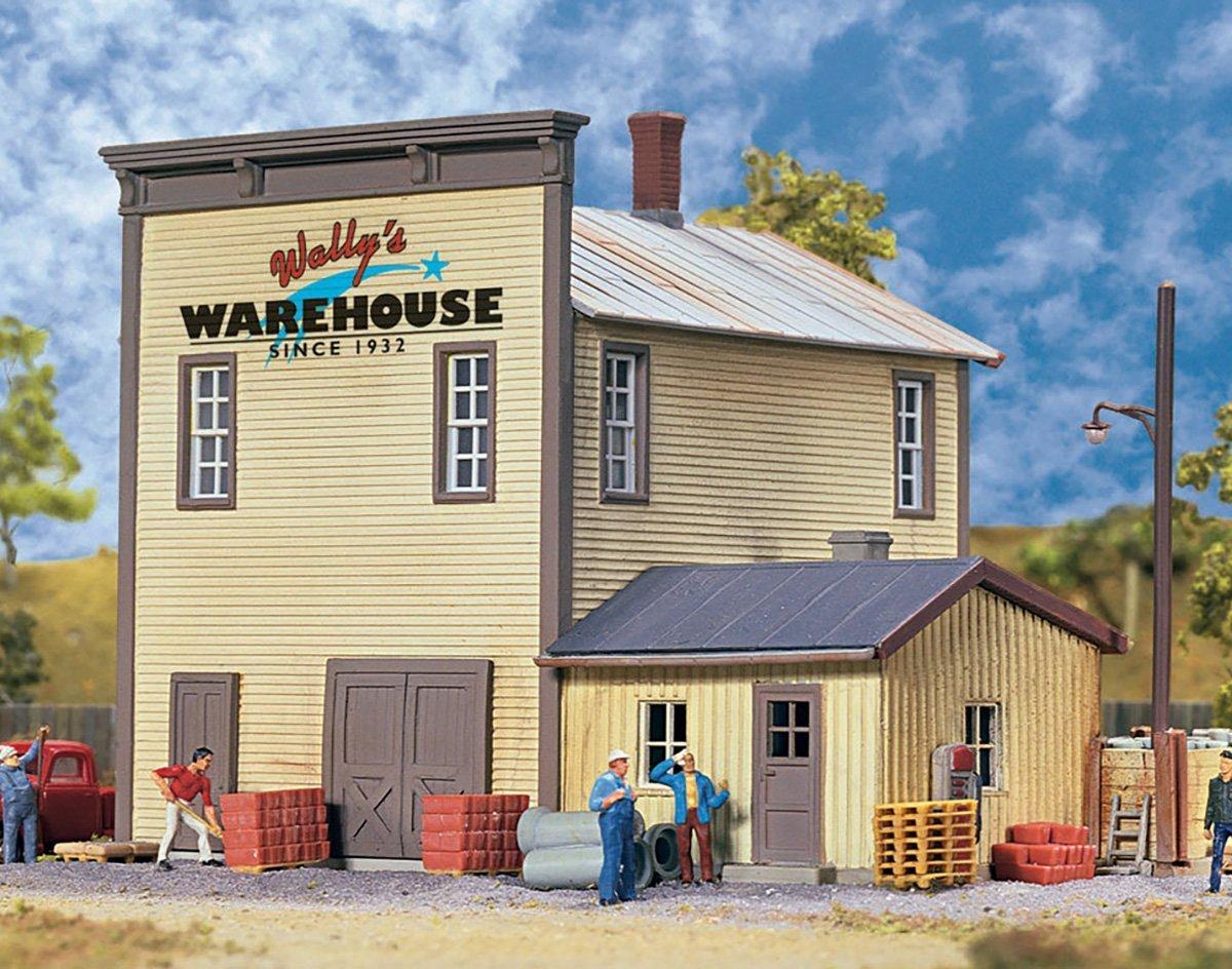 【新作からSALEアイテム等お得な商品満載】 Walthers Cornerstone Wally's B018TMH0N0 Cornerstone Warehouse Warehouse Train [並行輸入品] B018TMH0N0, 絶対一番安い:db231420 --- a0267596.xsph.ru