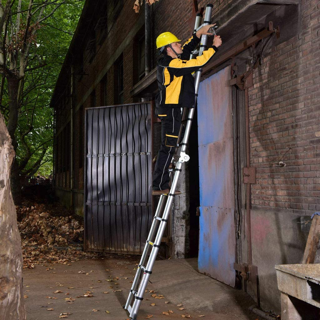 Aluminium 3 Step Ladder Lightweightg 150kg//330lbs Loading