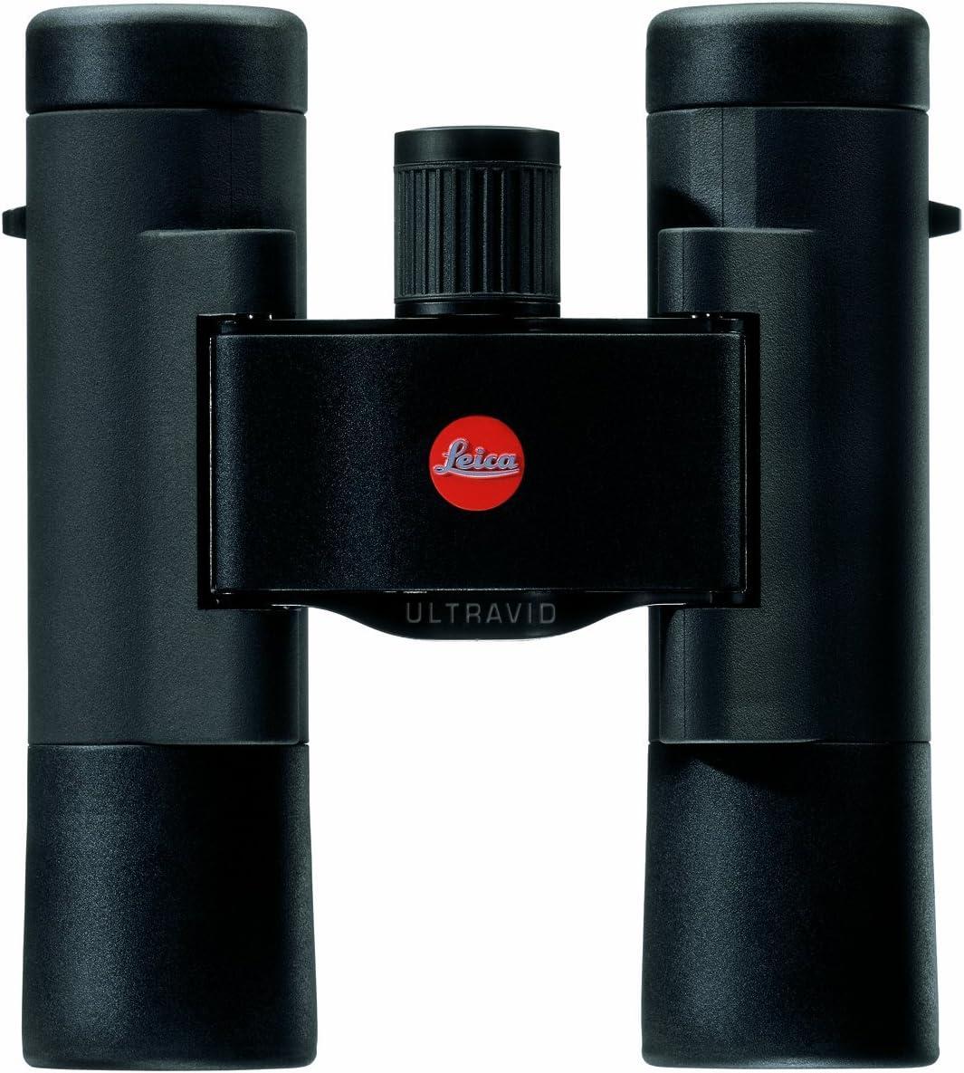 Leica Ultravid BR - Prismáticos compactos (10 x 25 mm, Revestimiento de Lente AquaDura, Color Negro