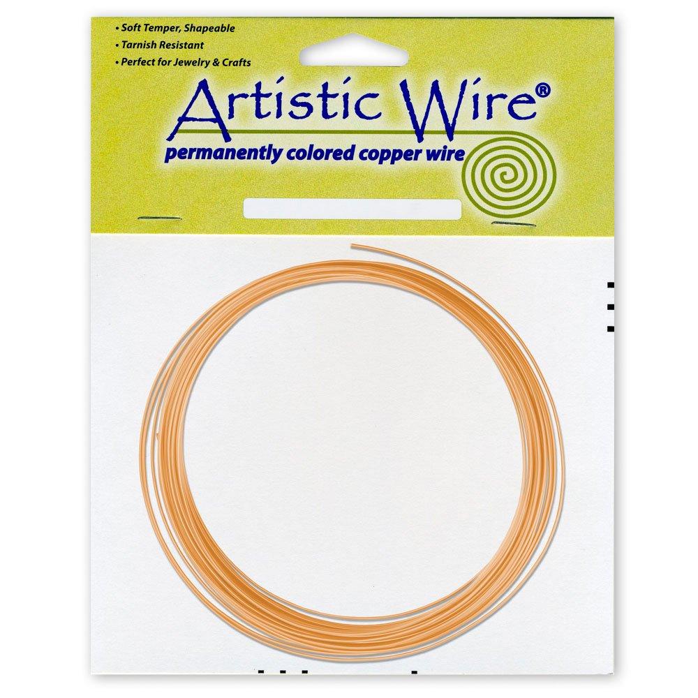 Artistic Wire 14-Gauge Bare Copper Coil Wire, 10-Feet Beadalon AWB-14-BC-10FT