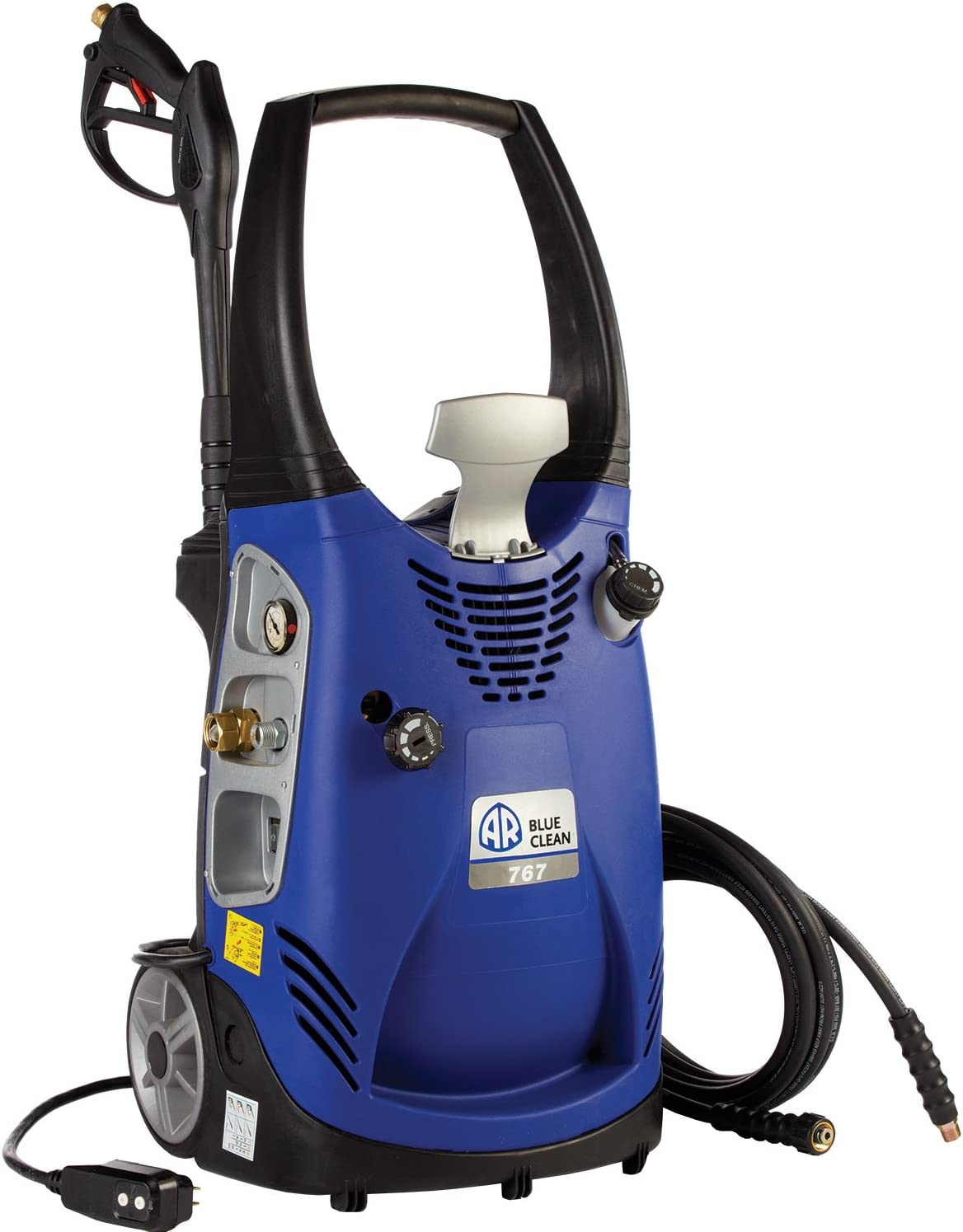 AR Blue Clean AR767 Industrial Grade 1,900 PSI 2.1 GPM Electric Pressure Washer