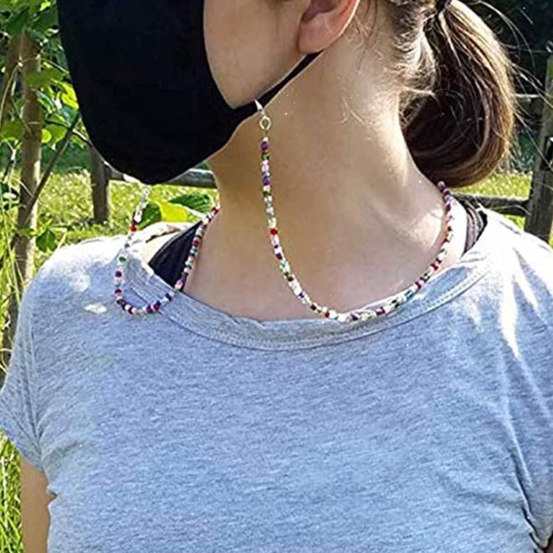 6 St/ück Lesebrille Kette Bunte Perlen Brillenkette Mit Perlen Halter Brillen Halskette Ketten f/ür Sonnenbrillen Lesebrillen usw und Kann Auch Als Halskettendekoration Verwendet Werden