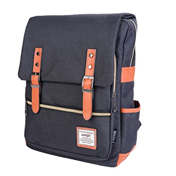25acf5646d Vintage Backpack for Women Canvas Backpack for Men Cool Style Daypack  Unisex College Backpack Waterproof Laptop