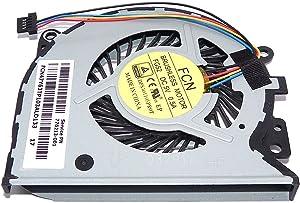 wangpeng New CPU Cooling Fan for HP Envy 15-U 15U 15-U011DX 15-U010DX 776213-001