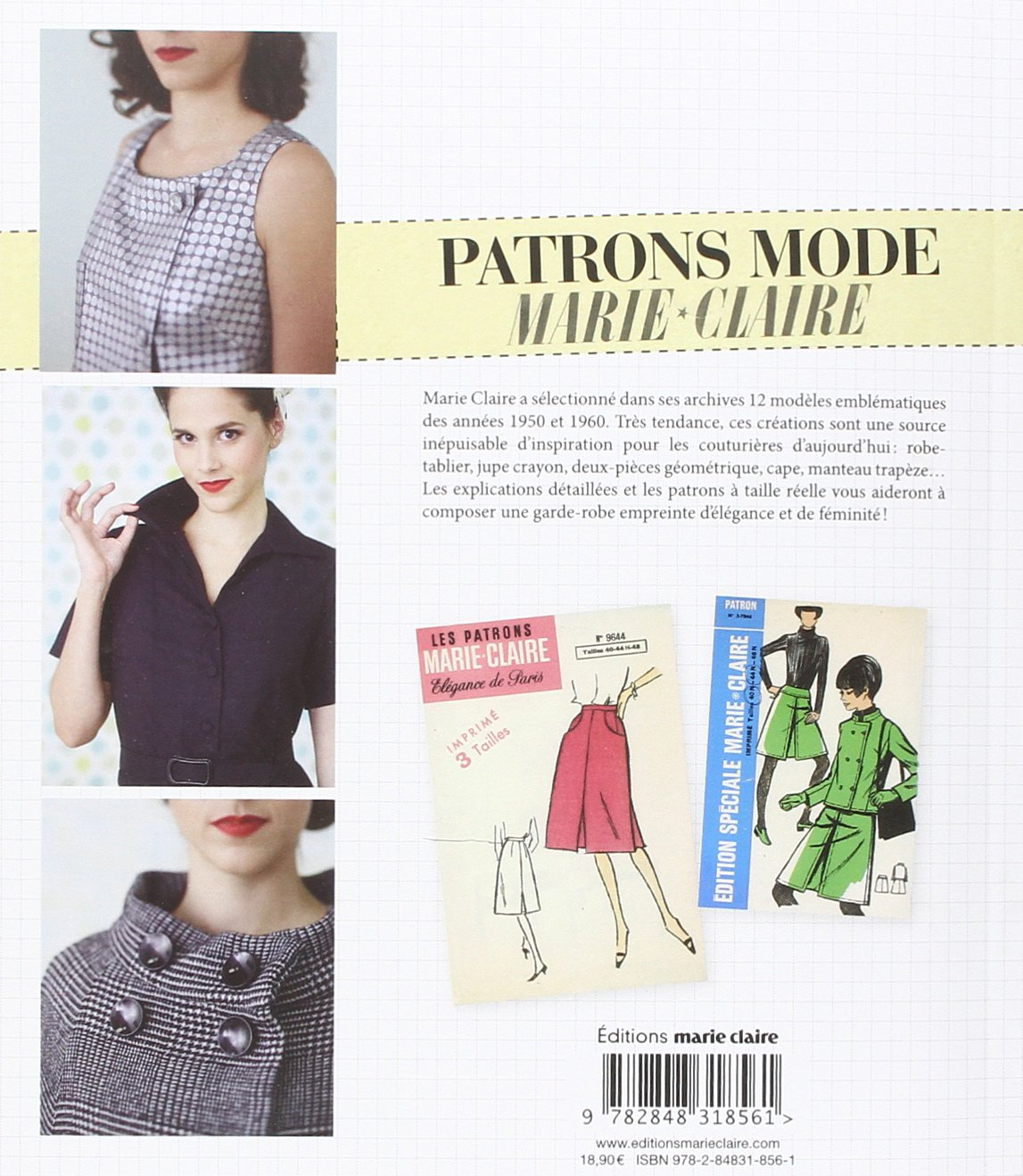Patron robe chemisier marie claire