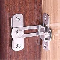 Right angle 90 degree door lock buckle door and window lock lock sliding door lock sliding door home door lock(2pcs)
