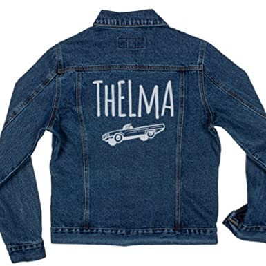 Amazon.com: Thelma & Louise BFF Jackets: Ladies Denim Jean Jacket ...