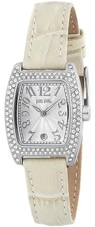 e5716a0132 Amazon | [フォリフォリ]Folli Follie 腕時計 S922ZI SLV/IVY レディース ...