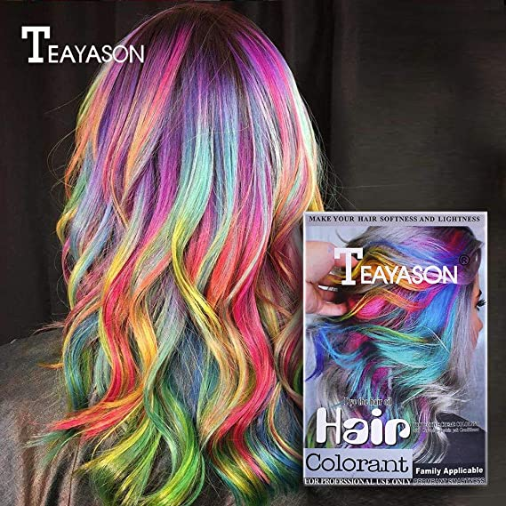 gaddrt – Tinte para el cabello EyeCare – Rímel 12 colores ...