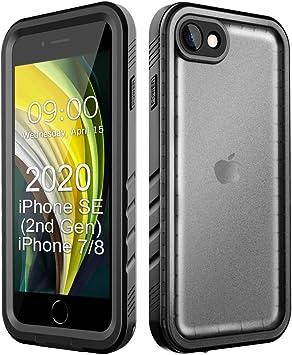 Cozycase Funda Impermeable para iPhone SE 2020/iPhone 8/iPhone 7 (4,7