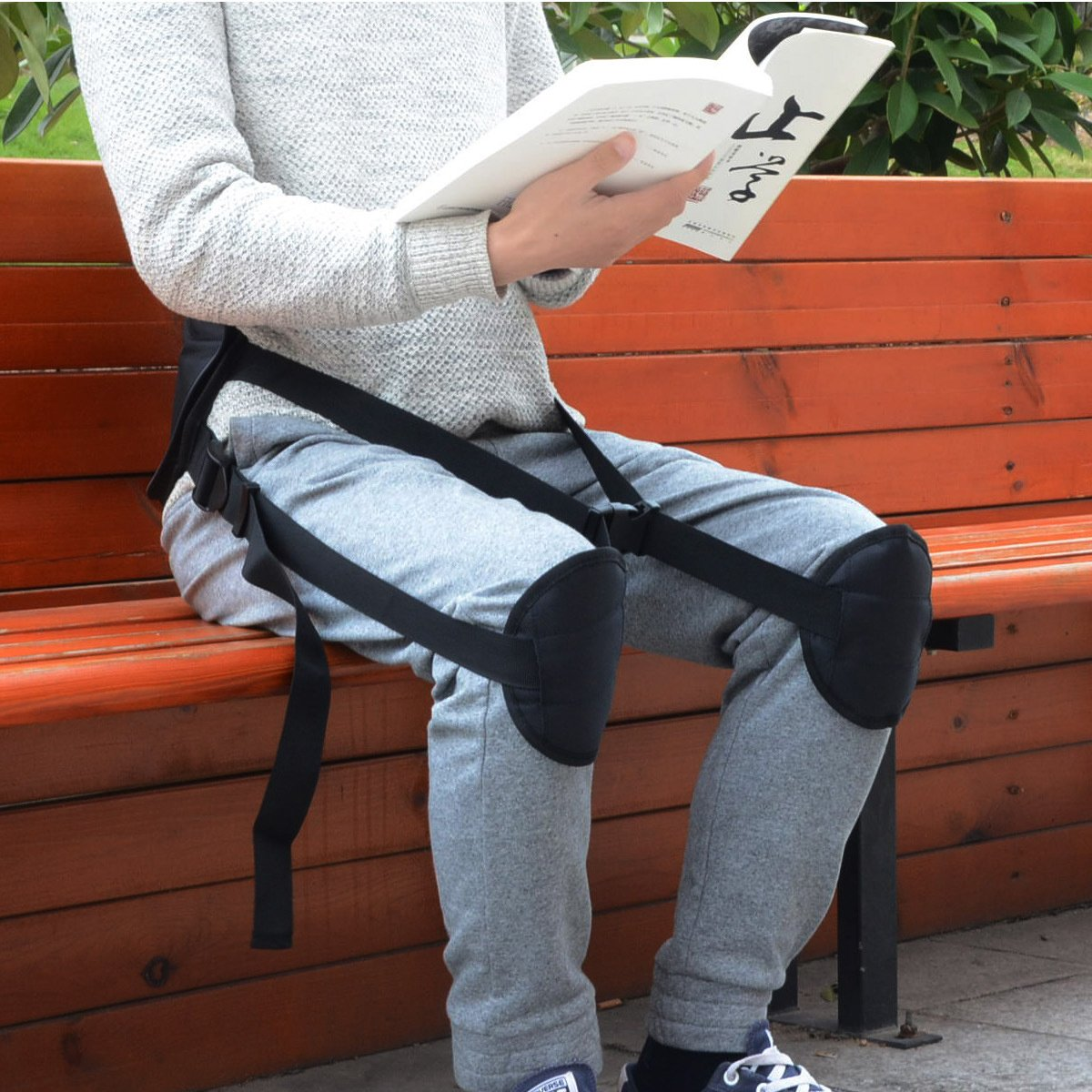 Ueasy Adjustable Back Posture Corrector Brace Clavicle Brace Portable Correct Back Posture for Correction Posture Enhance Temperament