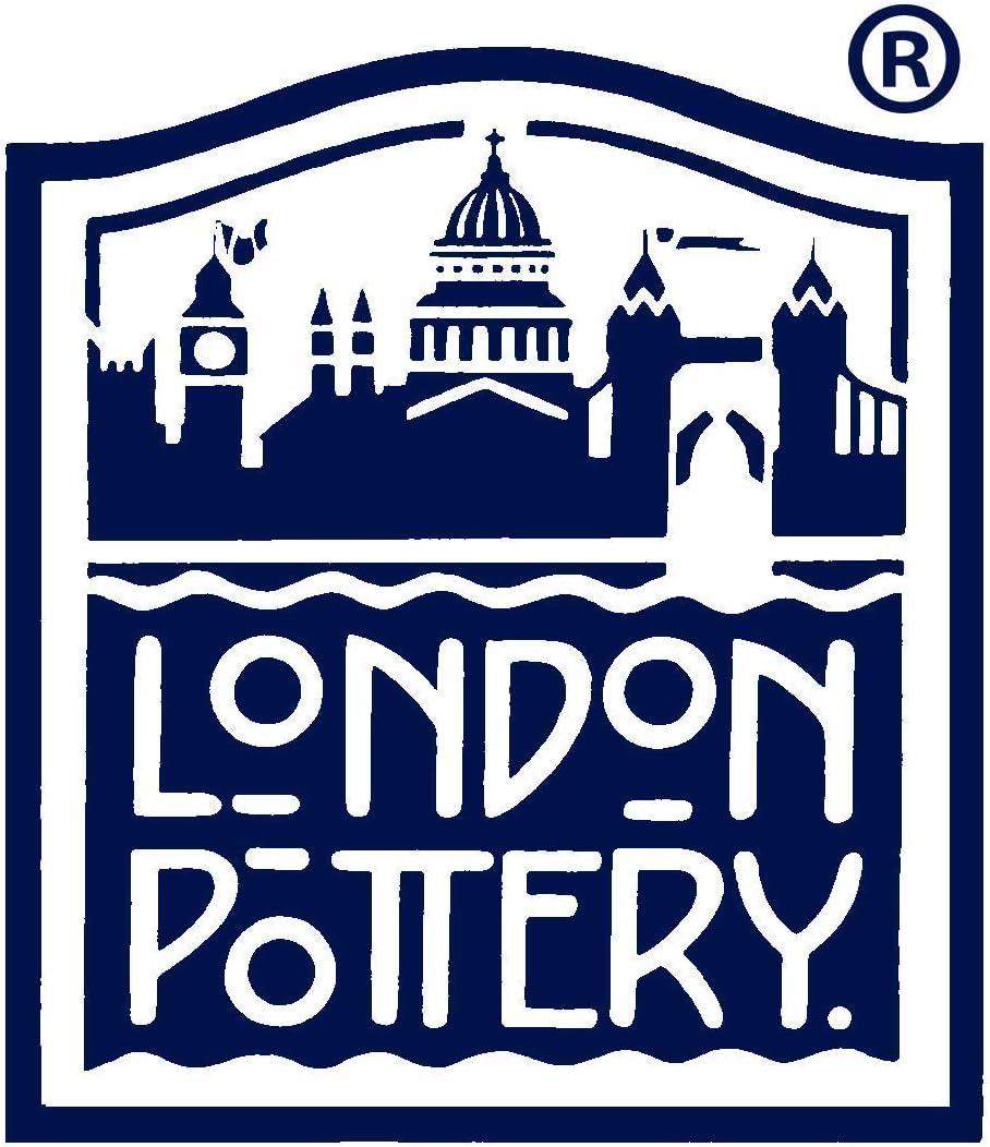 cer/ámica London Pottery Farmhouse Tetera con infusor en caja de regalo