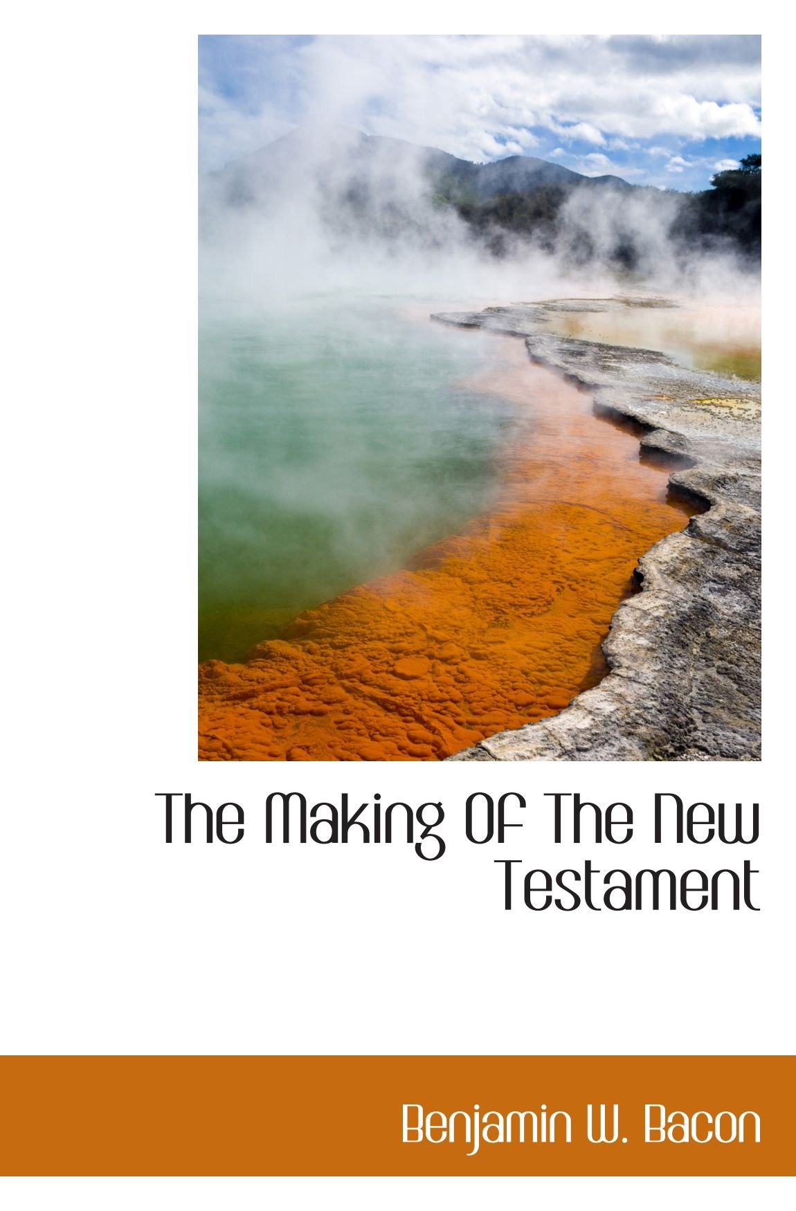Download The Making Of The New Testament ebook