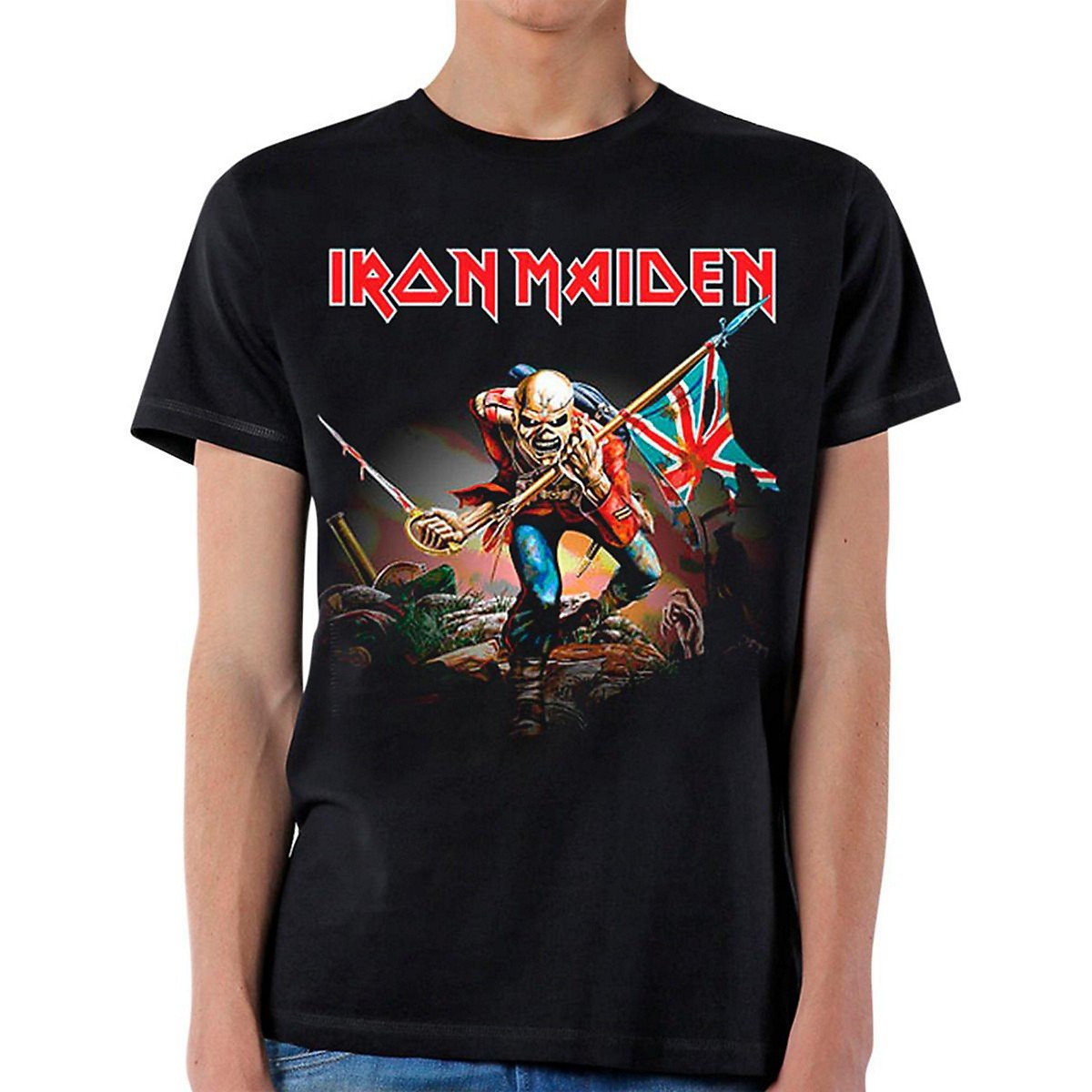 Iron Maiden The Trooper T-Shirt S, Black