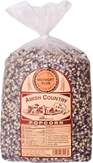 product image for Amish Country Popcorn | 6 lb Bag | Midnight Blue Popcorn Kernels | Old Fashioned with Recipe Guide (Midnight Blue - 6 lb Bag)