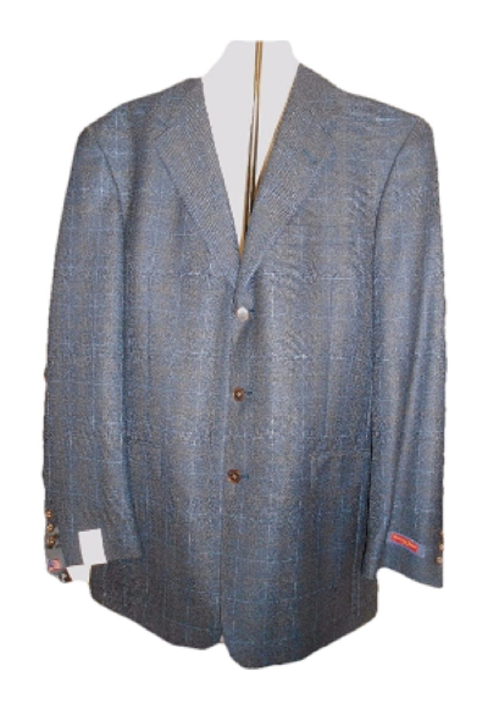 Austin Reed Men S Wool Plaid Blazer Jacket 42l Navy Plaid Buy Online In Aruba At Aruba Desertcart Com Productid 45095665