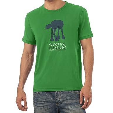TEXLAB - AT AT Winter Is Coming - Herren T-Shirt, Größe S,