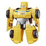 "Transformers Playskool Heroes Rescue Bots Academy Bumblebee Converting Toy Robot, 4.5"" Action Figure, Toys for Kids Ages 3 & Up"