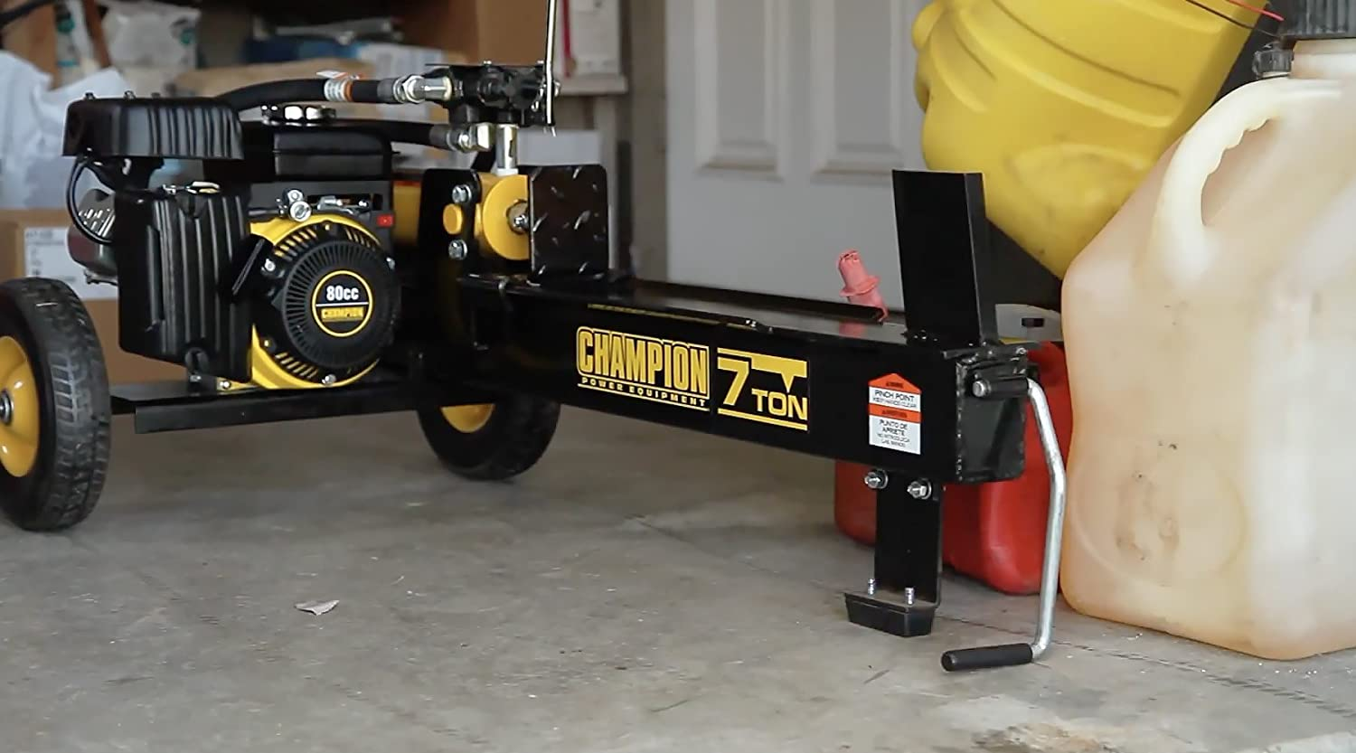 champion wood splitter reviews