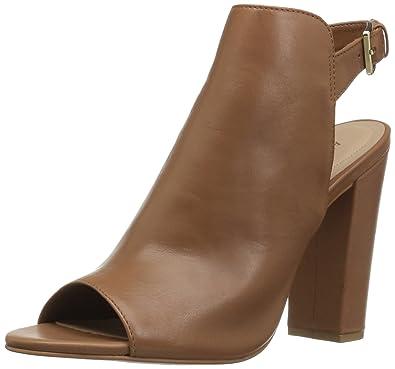 ALDO Women's Noassa Heeled Sandal, Medium Brown, ...
