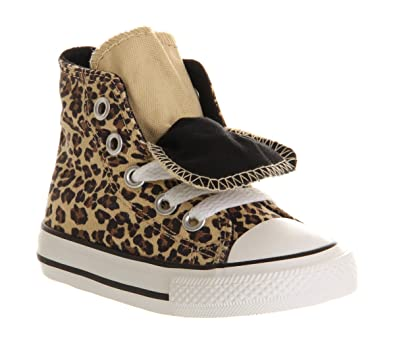 b1c9671e9eab Converse Double Tongue Hi Infant Leopard - 7 infant UK  Amazon.co.uk  Shoes    Bags