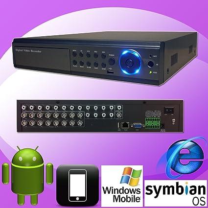 Amazon com: DNT 16ch 16 Channel H 264 Standalone Cameras