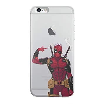 coque iphone 6 deadpool licorne