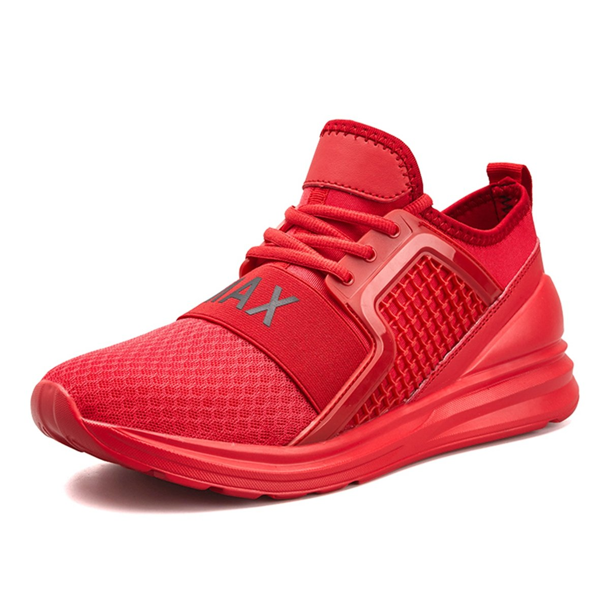 Resonda Mens Running Shoes Casual Fashion Sneakers Lightweight Athletic Walking Sport Shoes for Men B07FF1BWTR 10 B(M) US|02-red