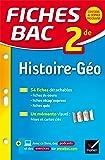 Fiches bac Histoire-Géographie 2de: fiches de révision - Seconde