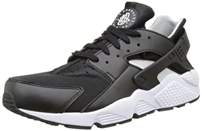 finest selection f01e6 bd669 Nike air Huarache Mens Running Trainers 318429 Sneakers Shoes (US 11, Black  Flat Silver