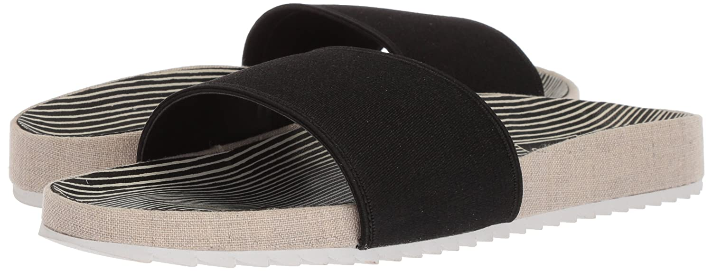 Dolce Vita Women's Sonia Slide Sandal B077QJ3LZJ 8 B(M) US|Black Elastic