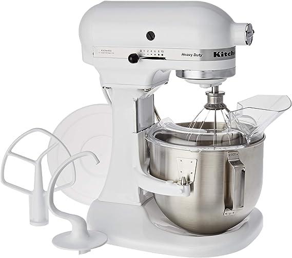 KitchenAid 5KPM5 EWH ROBOT DE COCINA DE GRAN CAPACIDAD DE 4,8 L ...