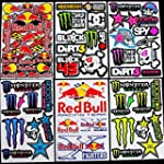 6 sheets motocross stickers Kpp Energ...