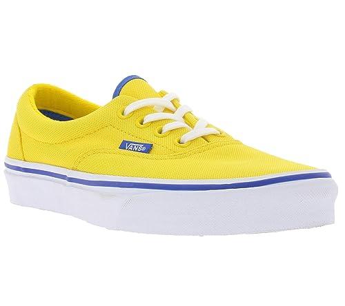 cb0b624f4d47 Vans Sneaker Slip-On Gaudy Ladies Era Sneakers Yellow: Amazon.co.uk ...
