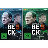 Kommissar Beck - Staffel 5 (Episode 1-8) im Set - Deutsche Originalware [4 DVDs]