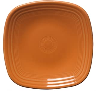 product image for Fiesta 7-3/8-Inch Square Salad Plate, Tangerine