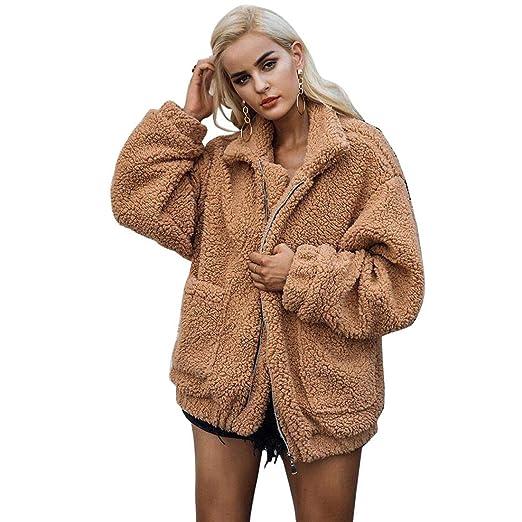 Amazon.com: JTENGYAO - Chaqueta de invierno para mujer ...