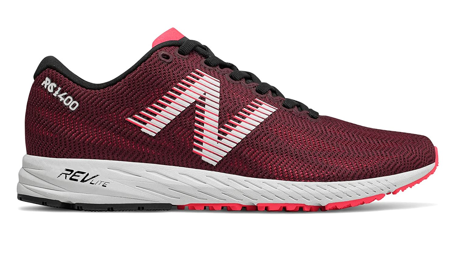 New Balance Women's 1400v6 Running Shoe B077SK4J1V 9 B(M) US|Nubuck Burgundy/Bright Cherry