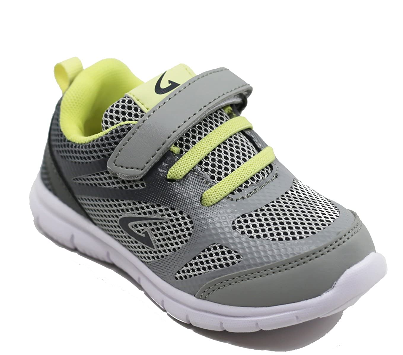 WALSTARUSA Walstar Boys Sneakers Athletic Strap Light Weight Running Shoes Toddler//Little Kid