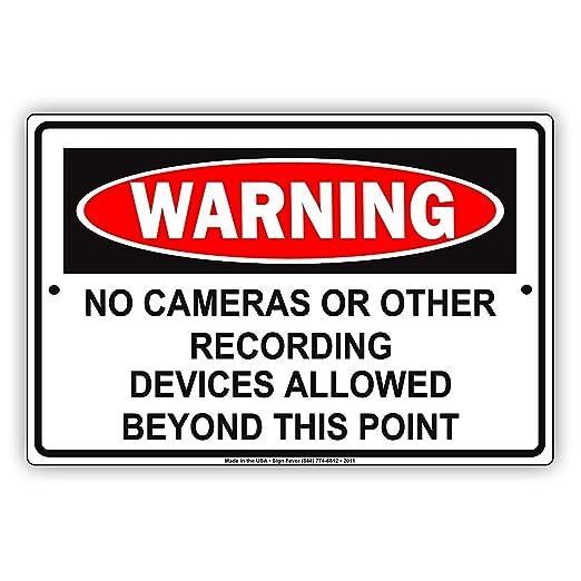 Eugene49Mor Advertencia sin cámaras u Otros Dispositivos de ...