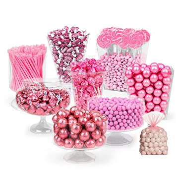 Remarkable Pink Candy Buffet Supplies Approx 14 Lbs Pink Candy Table Supplies Free Cold Packaging Feeds Download Free Architecture Designs Scobabritishbridgeorg