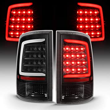 Fit Dodge 09-18 Ram 1500 2500 3500 Replacement Rear Tail Brake Lights Red Smoked