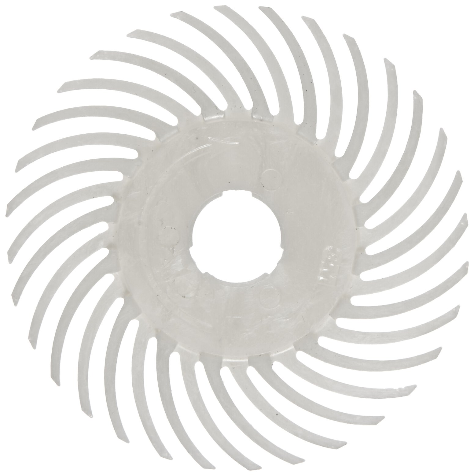 Scotch-Brite(TM) SR Radial Bristle Disc, 20000 rpm, 2 Diameter, Cream (Pack of 10)