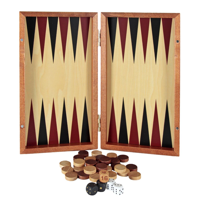 Backgammon de viaje Aquamarine Games Compudid SG1019