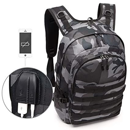 fb82d0aab396 Amazon.com: Reichlixin Laptop Water Repellent Backpack with USB ...