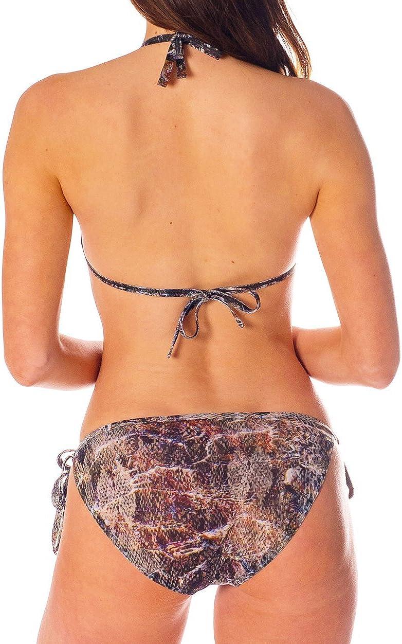 Kiniki Bali Tan Through Tie Side Bikini Tanga