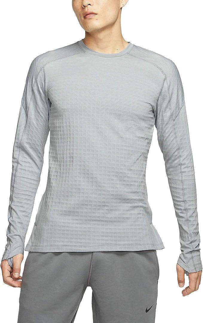 Nike Pro Tech Pack Bv4503-012 - Camiseta de manga larga para hombre - Gris - XX-Large: Amazon.es: Ropa y accesorios