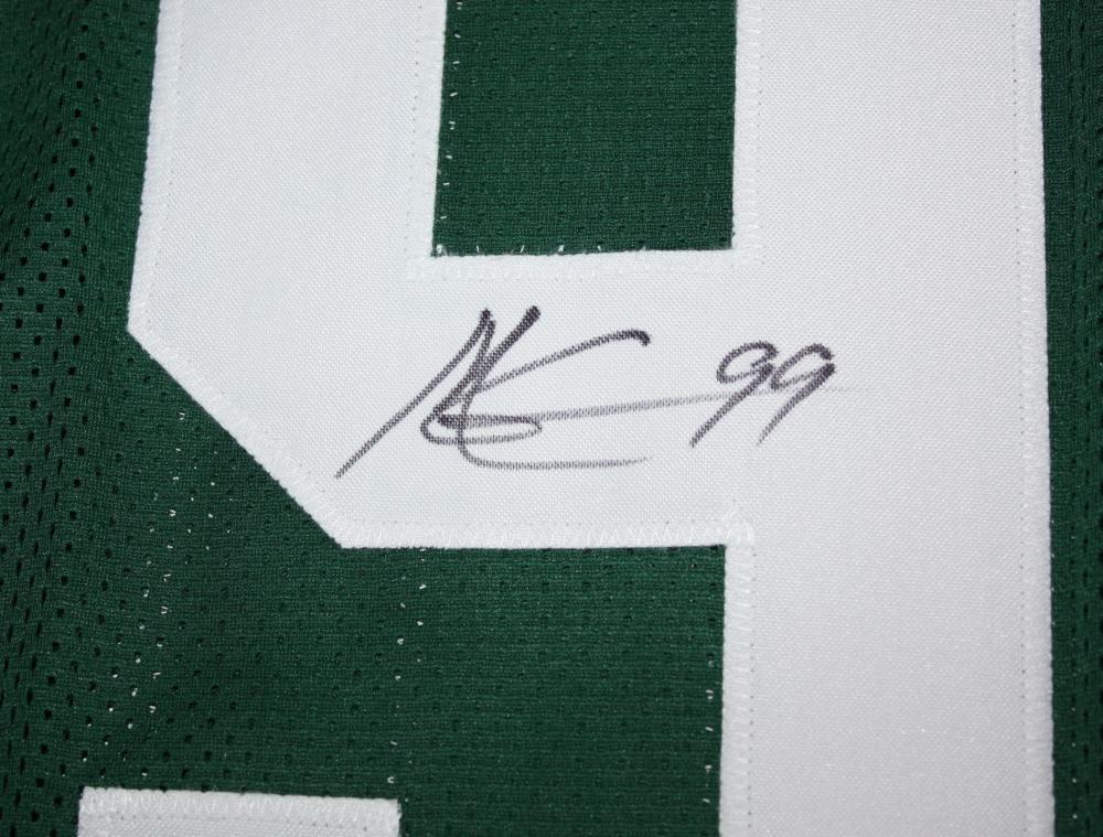 Mark Gastineau Autographed Green Pro Style Jersey JSA Witness Authenticated
